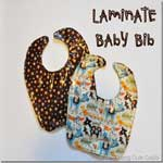 Little Laminate Baby Bib