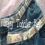 Simple Toddler Belt